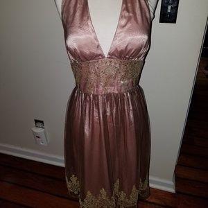 Reg $300 Adrianna Papell Boutique Halter dress